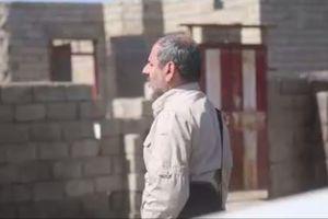 فیلم/ اذان شهید نصیری ساعاتی قبل از شهادت
