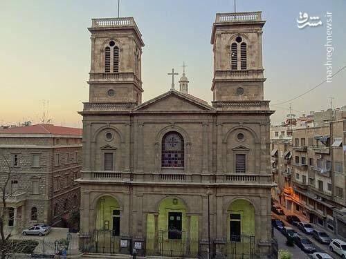 کلیسای مسیحیان حلب پس از بازسازی