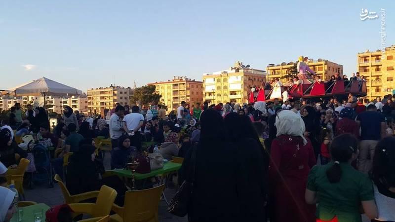 بازگشت زندگی به شهر حلب در اولین رمضان بعد از آزادی