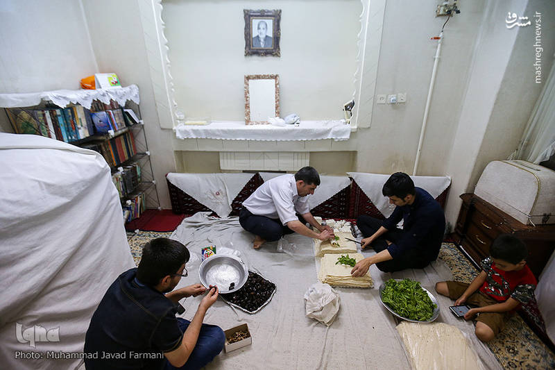 سنت حسنه افطاری ساده