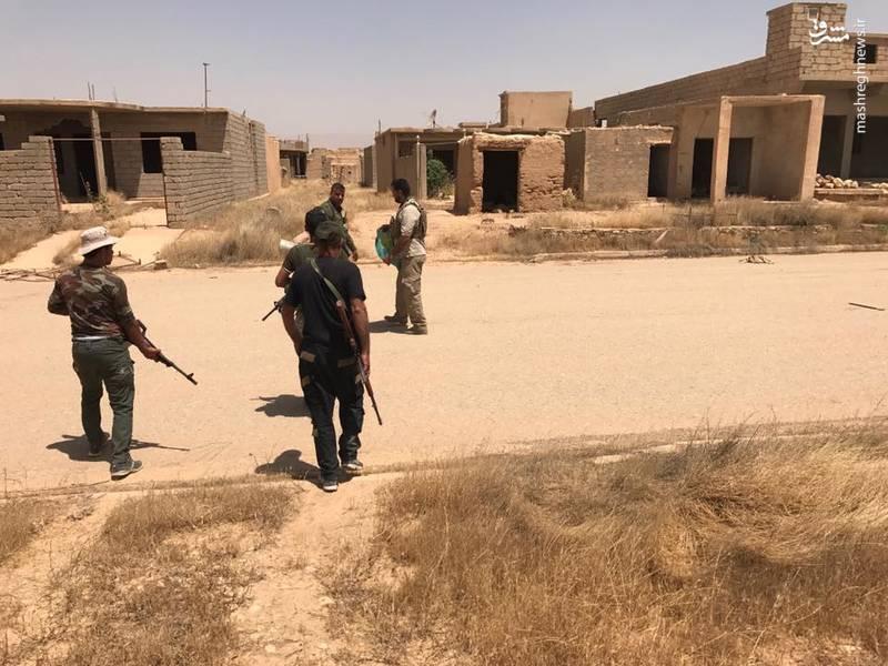نیروهای بسیج مردمی عراق در مرز سوریه