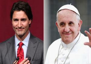 پاپ برای معذرت خواهی از بومیان کانادایی ،به این کشور دعوت شد