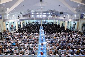 عکس/ محفل انس با قرآن در حسینیه امام همدان