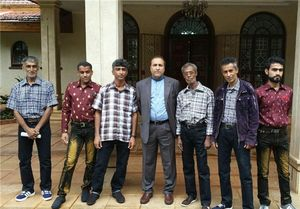 شش ملوان ایرانی نجات یافته در کنیا وارد تهران شدند