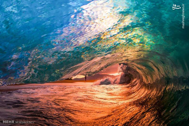 عکس های زیبا از امواج دریا