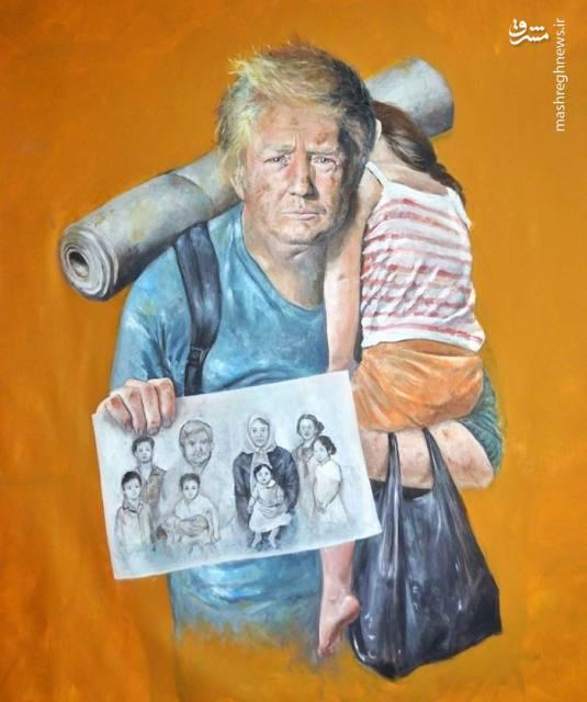 کاریکاتور فقر برای برخی رهبران دنیا