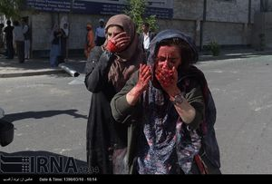 عکس/ مجروحان انفجار مهیب کابل