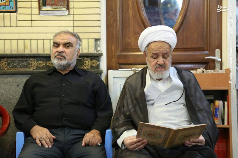 حجت الاسلام سعیدی نماینده ولی فقیه در سپاه پاسداران