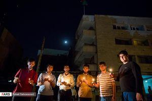 عکس/ همدردی دانشجویان تهرانی با مردم افغانستان