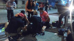 عکس/ حمله تروریستی به هتلی در فیلیپین