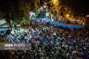 عکس/ شب هفتم ماه رمضان مسجد ارک