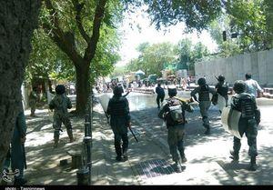 خشونت در تظاهرات امروز کابل جان ۷ نفر را گرفت