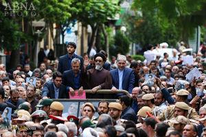 عکس/نخستین نماز جمعه امام جمعه جدید شهر تبریز