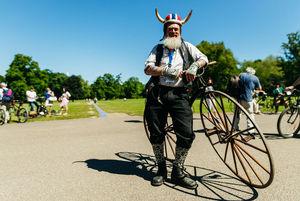 عکس/ دورهمی دوچرخههای لاکچری