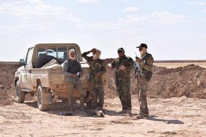 الحشد الشعبی 8 روستا را در غرب نینوی آزاد کرد