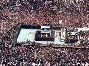 تصاویری ناب از تشییع میلیونی امام خمینی (ره)