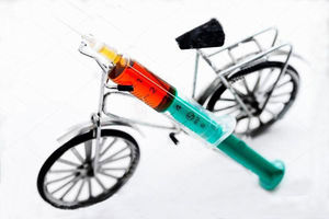 مثبت شدن تست دوپینگ یک دوچرخه سوار