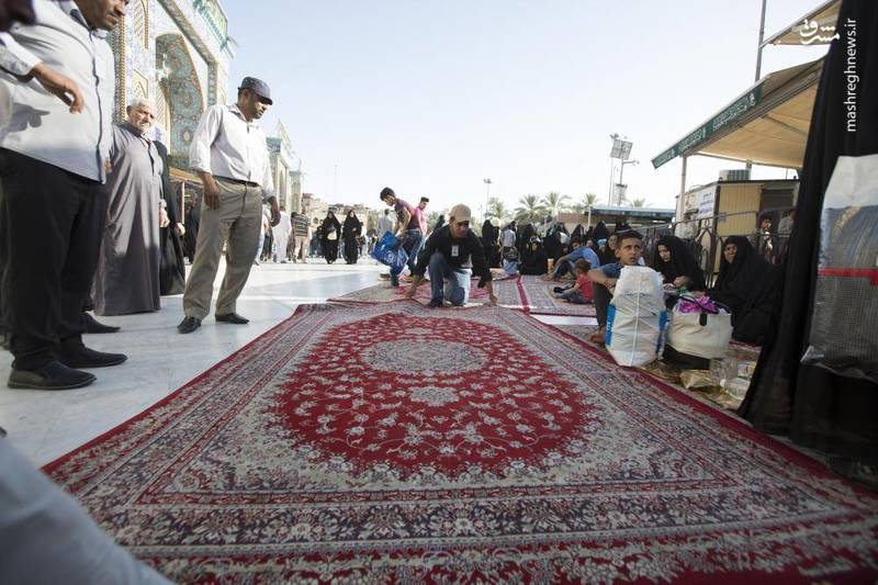 حال و هوای کربلا در ماه رمضان