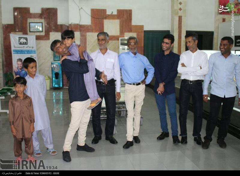 بازگشت 6 ملوان ایرانی نجات یافته به چابهار
