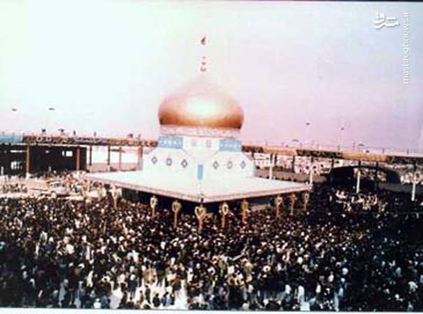 تصاویری ناب از تشییع حضرت امام (ره)