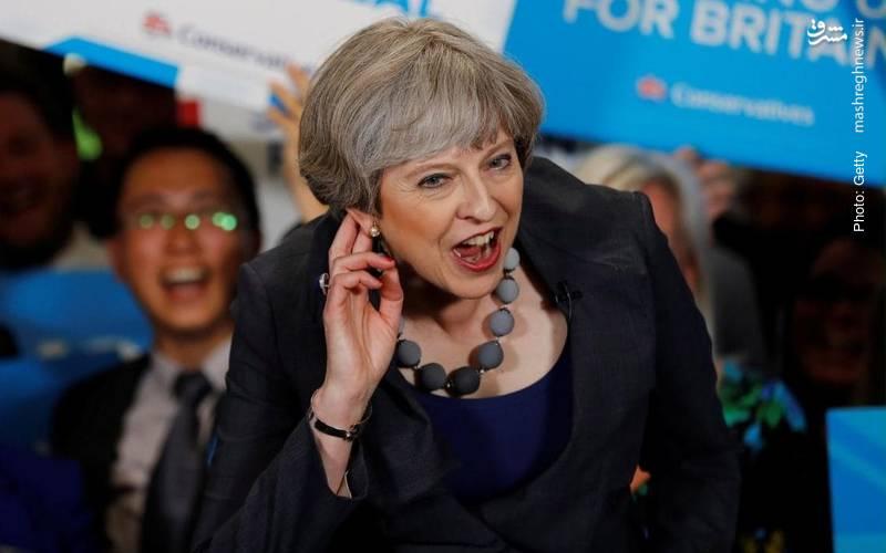 برگزاری انتخابات زودهنگام در بریتانیا به درخواست ترزا می و از دست رفتن اکثریت حزب او در مجلس