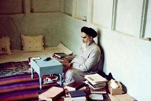 عکس/ اتاق مطالعه امام(ره) در منزل نجف
