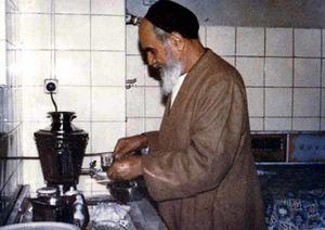عکسی که ساده زیستی امام (ره) را نشان میدهد