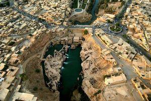 عکس هوایی از سازهی بینظیر ایرانی