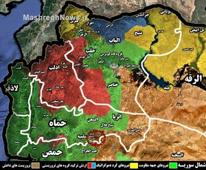 خط و نشان جبهه مقاومت برای داعش در شمال شرق استان حماه؛ عملیات بزرگ آغاز شد + نقشه میدانی