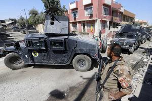 نبرد با تروریستهای داعشی در موصل