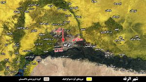 ارتش سوریه از جنوب غرب وارد استان رقه شد