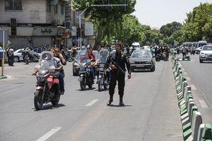 عکس/ وضعیت خیابانهای اطراف مجلس