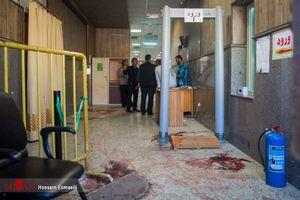 عکس/ محل آغاز حمله تروریستها در مجلس