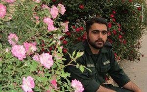 عکس/ پاسداری که بدست تکفیریها به شهادت رسید