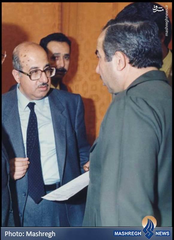 از راست: ابوجهاد و ابوادیب از فرماندهان و بنیان گذاران «فتح» که مبارزات خود را با «اخوان المسلمین» آغاز کردند