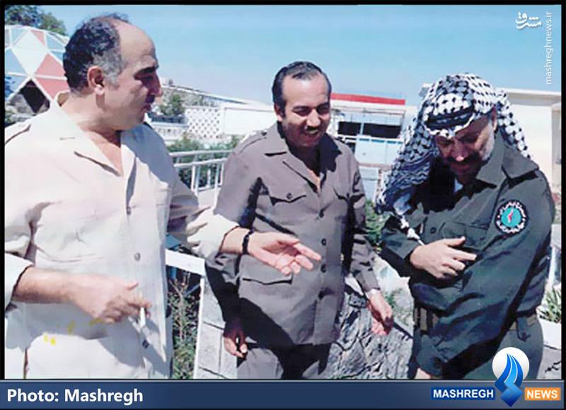 از راست: یاسر عرفات-شهید ابوجهاد-ابوایاد  فرماندهان اصلی «فتح» که مبارزات خود را با «اخوان المسلمین» آغاز کردند