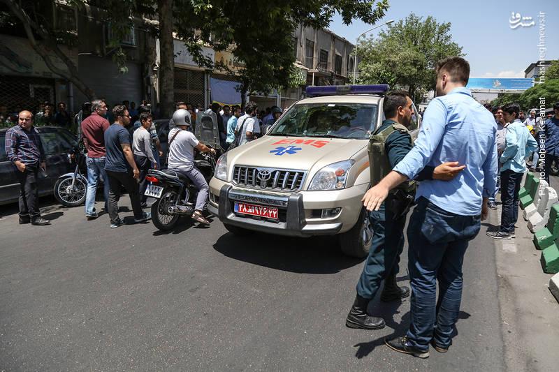 1958976 جزییات حادثه تروریستی در مجلس و حرم امام (ره) + آمار شهدا