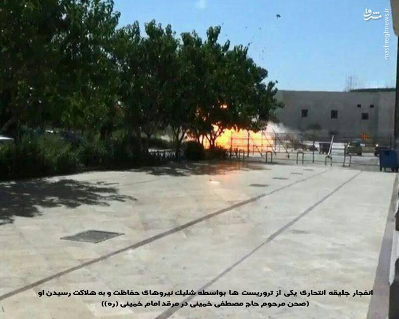 1959010 جزییات حادثه تروریستی در مجلس و حرم امام (ره) + آمار شهدا