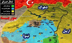 «تل صفوک»، مهمترین گذرگاه مرزی عراق و سوریه آزاد شد +نقشه میدانی