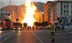 انفجار گاز