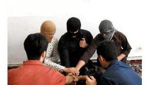 عکس/ بیعت تروریست ها قبل از حمله به مجلس