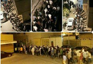 تظاهرات بحرینیها در حمایت از زندانیان سیاسی