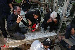 عکس/ آخرین وداع با شهید پاسدار «جواد تیموری»