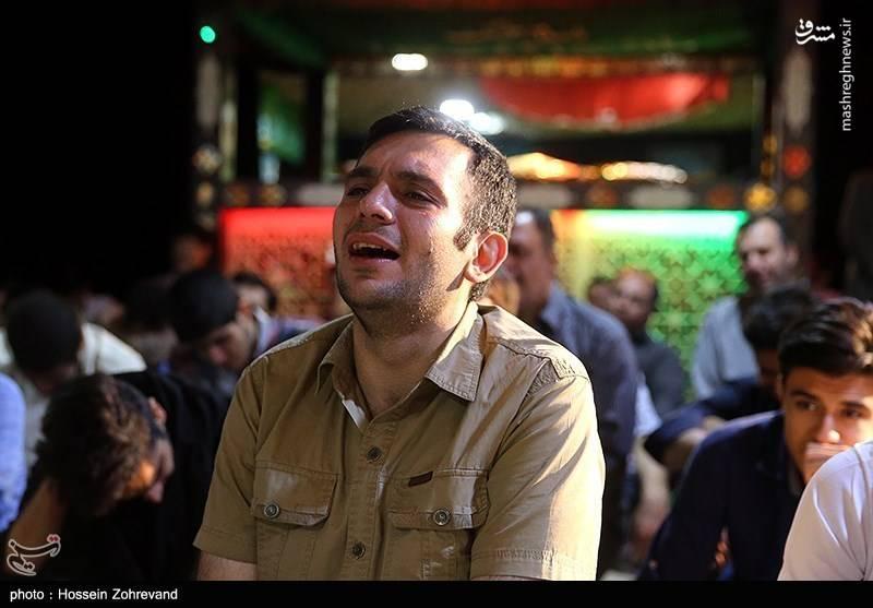 وداع با پیکر احسان آقاجانی معمار شهید