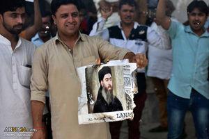 عکس/ تجمع شیعیان هند در اعتراض به حوادت تروریستی تهران