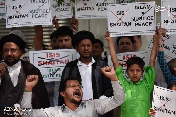 تجمع شیعیان هند در اعتراض به حوادت تروریستی تهران