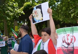محکومیت حملات تروریستی تهران در فرانکفورت