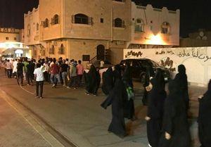 نظامیان آل خلیفه تظاهرات بحرینیها را سرکوب کردند +عکس
