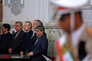 عکس/ مراسم بزرگداشت شهدای حملات تروریستی تهران