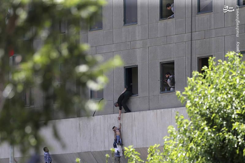 اقدام تروریستی در مجلس شورای اسلامی ایران و شهادت جمعی از هموطنان